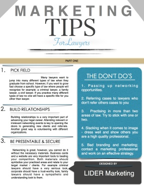 Marketing Tips for Lawyers