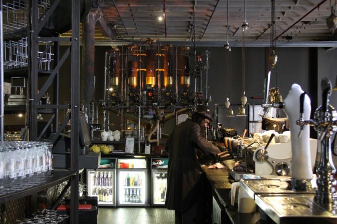 Original Steam Punk Cafe in Cape Town South Africa