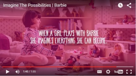 2015 Barbie Advert