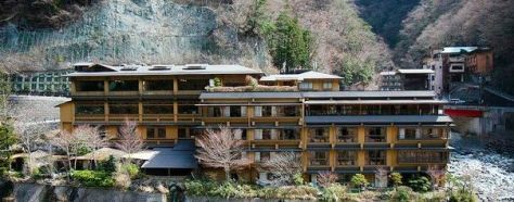 Oldest hotel in Japan and the world -nisiyama-onsen-keiunkan-